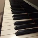 念願のピアノレッスン