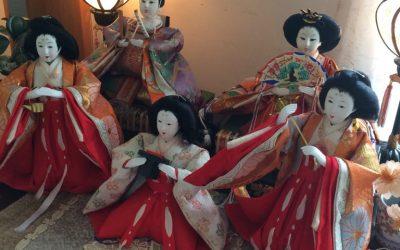 雛人形を飾りました