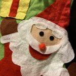 本格演奏とサンタさんが来るクリスマス会へ